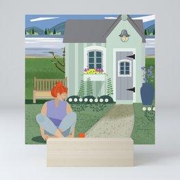 Garden Shed Mini Art Print