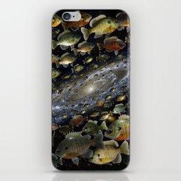 Bluegills Swim in Cosmic Pond iPhone Skin