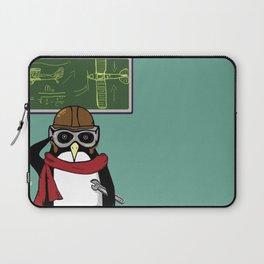 Little Penguin, Big Plans Laptop Sleeve