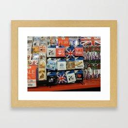 Sexy Brits Framed Art Print