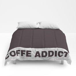 Coffe addict Comforters