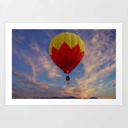 Hot-air Balloon 1 Art Print