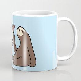 A Hug a Day Keeps the Grumpiness Away Coffee Mug