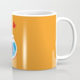 A Fish May Love a Bird but Where Would They Live?  Coffee Mug