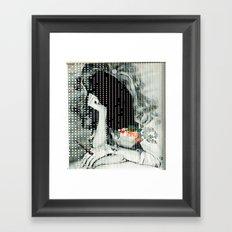 Wege des Glücks 1 · Empty & Dark Framed Art Print