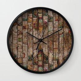 Encrypted Map Wall Clock
