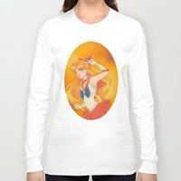 sailor venus Long Sleeve T-shirts featuring Sailor Venus by Tae V