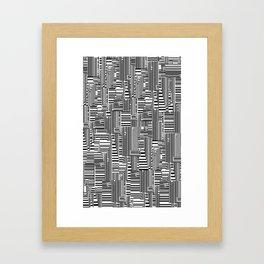 Black-White Framed Art Print