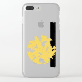 Abstract Sun #society6 #abstractart Clear iPhone Case