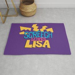 Screech Loves Lisa Rug