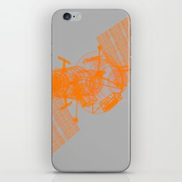 Explorer Orange and Grey iPhone Skin