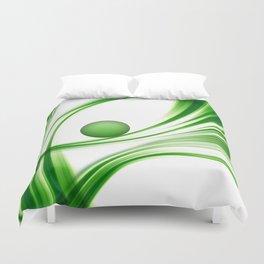 Green 113 Duvet Cover