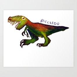 Richi's Dinosaur Art Print