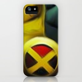 365 days of superheroes - Day 2: Wolverine from X-Men iPhone Case