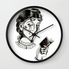 Loves Lost, 2014. Wall Clock