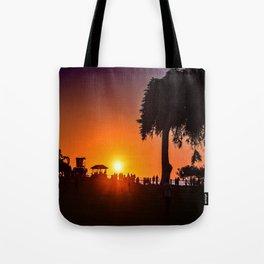 Saturday In The Park ( La Jolla Cove) Tote Bag