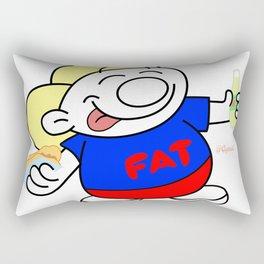 Fatman Rectangular Pillow