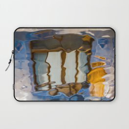 Gaudi Abstract Glass Reflections Laptop Sleeve