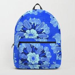 Blue Dakota Rose Backpack