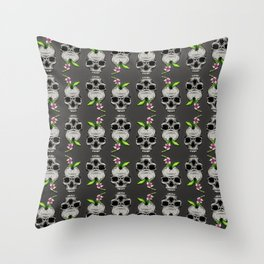 The Inevitable Cycle Pattern Throw Pillow