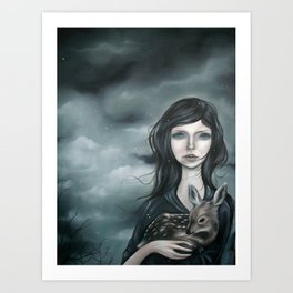 Death Knell Art Print