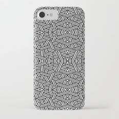 Black and White Vector Slim Case iPhone 7