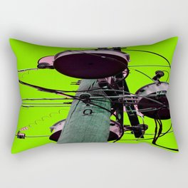 Industrial Electric Musings Rectangular Pillow