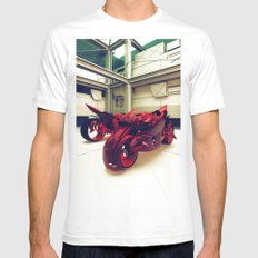 BIXE.CB7 Mens Fitted Tee White SMALL