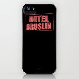 Hotel Broslin iPhone Case