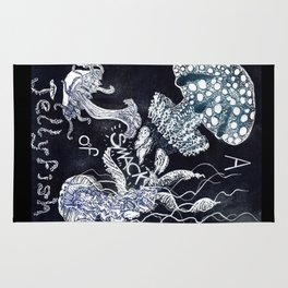 A Smack of Jellyfish Rug