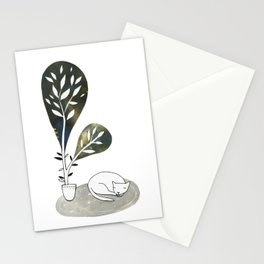 Tiny Cat Stationery Cards