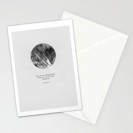 Minimalist Circle Orwell Stationery Cards