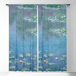 Water Lilies (1840-1926) by Claude Monet Blackout Curtain
