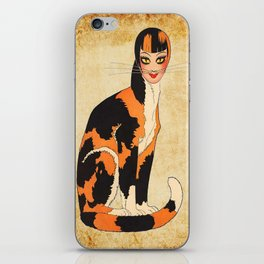 Cat-Woman iPhone Skin
