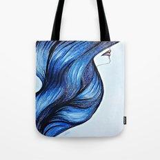 Abstract Hair Tote Bag