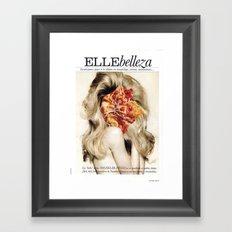 9 COLLAGE SERIES #4 Framed Art Print