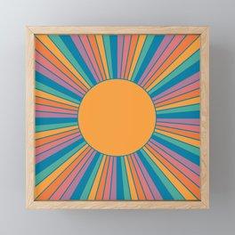 Sunshine State Framed Mini Art Print