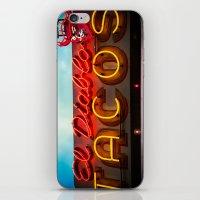 diablo iPhone & iPod Skins featuring El Diablo by Phil Provencio