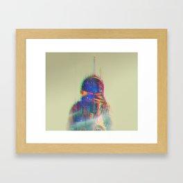 The Space Beyond - Astronaut Framed Art Print