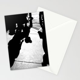 Urban Street Photograhy Black and White Modern Wall Art  Stationery Cards