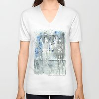 fifth element V-neck T-shirts featuring Element by Autumn Steam