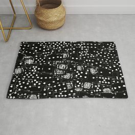 Suits You BLACK Rug