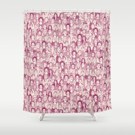 WOMEN OF THE WORLD CHERRY Shower Curtain