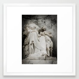 The Broken Framed Art Print