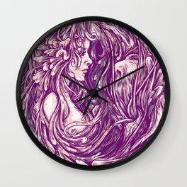 Beauty and the beard Wall Clock
