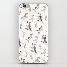 Raining Cats and Dogs iPhone Skin