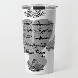 Claire Beauchamp Randall Fraser Travel Mug
