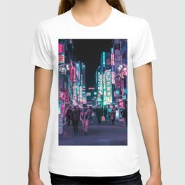Heart Full Of Neon: Cyberpunk Overload Canvas Print T-shirt