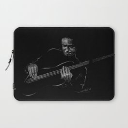 Jaco Pastorius - Jazz Bassist Laptop Sleeve