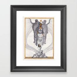 the flock prince Framed Art Print